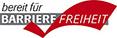 Logo: Bereit für Barrierefreiheit