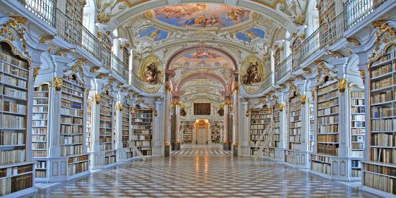 Innenansicht Stiftsbibliothek
